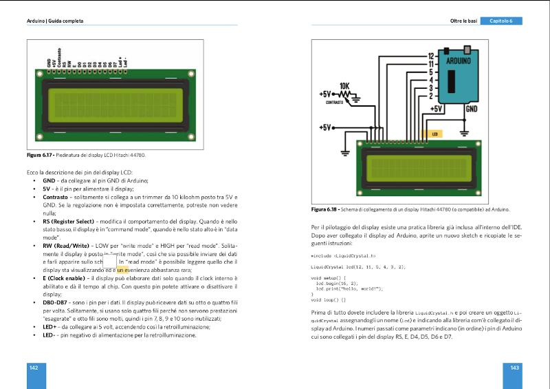 pagina interna manuale di arduino
